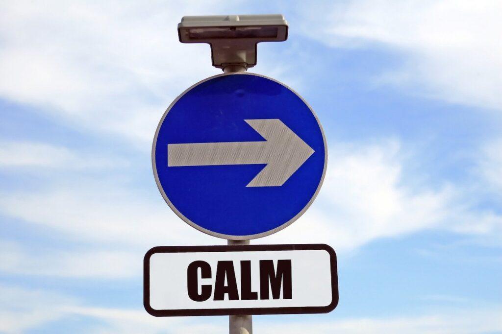 Calm Sign